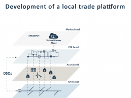 Development of a local trading platform pebbles